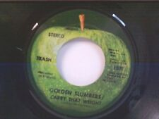 """TRASH """"GOLDEN SLUMBERS / CARRY THAT WEIGHT / TRASH CAN"""" 45"""