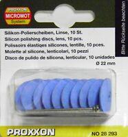 PROXXON 28 293 10 MOLETTE AL SILICONE, LENTICOLARI