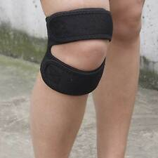 Dual Action Open Patella Knee Support Brace Strap Sports Exercise Running