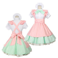 Anime Maid Cosplay Costume Sweet Lovely Lolita Dress Halloween Party Outfit
