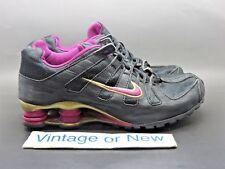 Girls' Nike Shox Turbo OH Black Gold Spark Purple Running Shoes 2006 sz 5.5Y