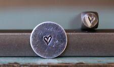 SUPPLY GUY 3mm Jenna Sue Heart Metal Punch Design Stamp SGCH-87