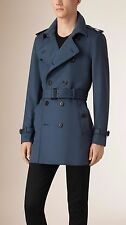 NWT BURBERRY LONDON $1995 MENS DOUBLE BREASTED TRENCH COAT JACKET US 46 EU 56