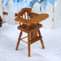 1Pc 1:12 Dollhouse Miniature Child Chair Model Doll House Accessories  Cw