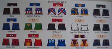LEGO CUSTOM MINIFIG GLOSSY DECAL SET MARVEL COMICS SET 4  15 FIG. LOT