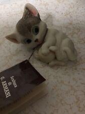 Giuseppe Armani Figurine Of Kitten With A Ball