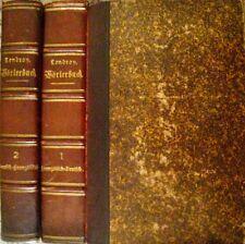 2 Bände Neues Wörterbuch Nouveau Dictionnaire J. Lendroy 1835 deutsch-französisc