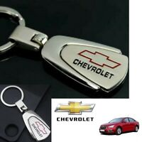 CHEVROLET Car Logo Keychain Metal Reflective Chrome Car Keyring Keyfob Key Chain