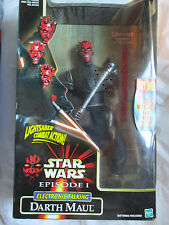 "Star Wars Episode I Darth Maul Electronic Talking 12"" Figure~New~Free Ship~Lbdwg"