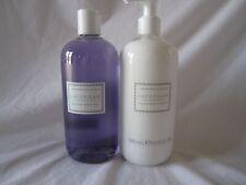 Crabtree & Evelyn 16.9 fl oz Bath/ Shower Gel & Body Lotion SAVANNAH GARDENS