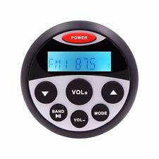 Gauge Hole Marine Bluetooth MP3 Stereo Radio Boat Receiver AM/FM,Bluetooth,USB