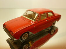 TEKNO DENMARK 826 FORD TAUNUS 17M - RED 1:43 - GOOD CONDITION