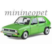 SOLIDO S1800203 1983 VW VOLKSWAGEN GOLF L 1/18 DIECAST MODEL CAR GREEN