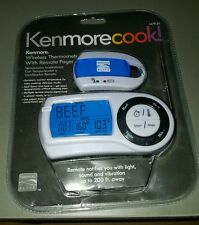 Kenmore Cook! Wireless Thermometer With Remote Pager Plus Timer *New*