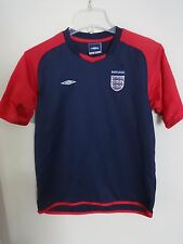 Vintage Umbro England National Team Futbol Soccer Jersey Youth X-Large