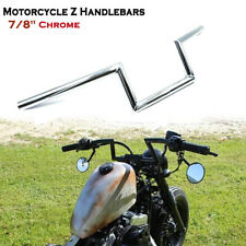 "Motorcycle 7/8"" Drag Z-Bar Handlebar For Harley Sportster Boober Suzuki Honda CG"