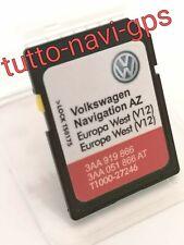 SD MAPPE VW-SKODA RNS315 EUROPA WEST V12 2020-21 NEW NEW VEDI FOTO....