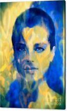 Motiv Romy Schneider Love Pop Art/Malerei/Leinwand/Kunstdruck/XXL/Poster/