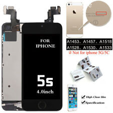 Recyco Touch Screen LCD Digitizer Display Replacement for iphone 5s - Black