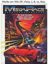 Megarace 1 + 2 PC Mac Game