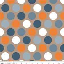 Super Star Tan Dot by Zoe Pearn, My Mind's Eye for Riley Blake, 1/2 yard fabric
