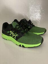 Inov 8 todos tren 215 para hombre Negro/Verde entrenamiento cruzado Deportes UK Size 8.5