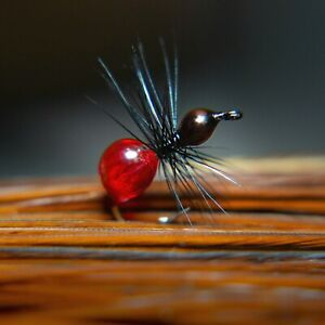 Hard Body Ant Fly [6 flies] Wet or Dry Fly, Best, Popular, Must have, All around