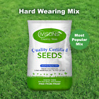 Ivisons Super Hard Wearing Grass Seed Front & Back Lawn Premium Durable Garden