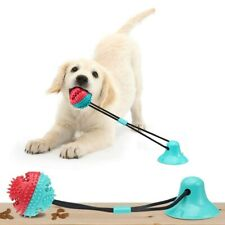 New listing Dog Toy Suction Cup Tug Silicon Chew Toys Tooth Cleaning Feeding Pet Supplies