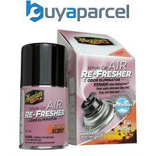 Meguiars Whole Car Air Refresher Odor Eliminator Fiji Sunset Scent 59ml G201502