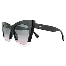 fb2ecf83fc0 Fendi Sunglasses Colour Block FF 0238 s 3h2 JP Black Green Pink Gradient