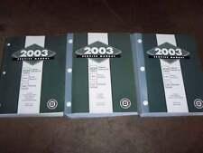 2003 Oldsmobile Bravada Factory OEM Shop Service Repair Manual 4.2L 6-Cylinder