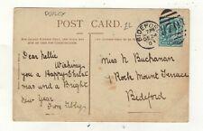 EDW.VII. 1903   BIDEFORD  DUPLEX POSTMARK.PLEASE SEE PICTURES