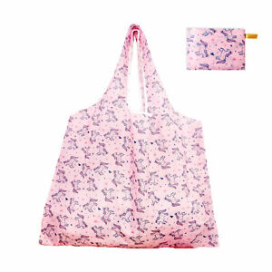 Extra-Large Reusable Shopping Bags Heavy Duty Washable Foldable Grocery Tote Bag
