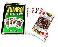 Jumbo Large Giant Playing Cards Games Kids Toys Poker Bridge Pk54 140mm x 95mm