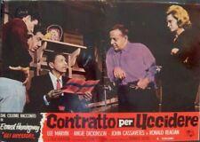 KILLERS Italian fotobusta movie poster 5 ANGIE DICKINSON LEE MARVIN REAGAN 1964