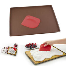 Silicone Baking Sheet Bakeware Mould Cake Rolling Pan Cake Scraper Spatula