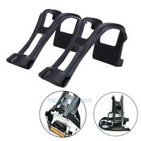 Cycling Road Mountain Bicycle Components Toe Clips With Straps for Bike Pedals