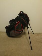 Sun Mountain Carry Stand Golf Bag red black grey