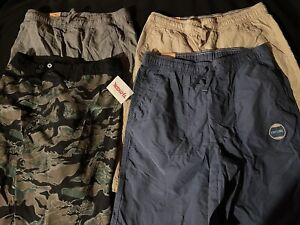 URBAN PIPELINE YOUTH Board SHORTS SIZE Large NEW WITH TAGS  14/16 Tan Blue Lot