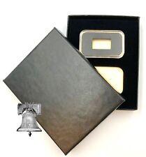 Air-tite Coin Holder Black Velvet Display Box + 2 Gold Bar Capsule 1-5-10 Gram