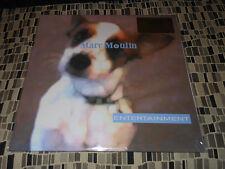 MARC MOULIN (of Placebo) ENTERTAINMENT 180g BLUE  PURPLE Colored vinyl Import