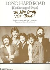 "THE NITTY GRITTY DIRT BAND ""LONG HARD ROAD"" SHEET MUSIC-THE SHARECROPPER'S DREAM"