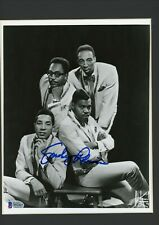 Smokey Robinson Signed Autographed 8x10 Photo Matted Framed Beckett BAS