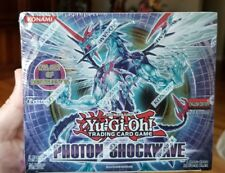 Yugioh Photon Shockwave 1st Ed. New Factory Sealed GEM Mint condition box Rare!