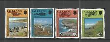Falkland ISLANDS 1990 riserve naturali SG, 597-600 U/M N/H LOTTO 799a