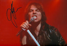 """Joey Tempest """"Europe"""" signed 8x12 inch photo autograph"""