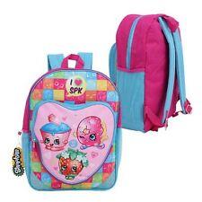 """Shopkins 16"""" Large Backpack, Schoolbag, Rucksack, Travel Bag, Heart,UK SELLER"""