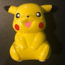 "Pikachu Porcelain Coin Piggy Bank 9"" Inch F.A.B. NY Pokemon Company Nintendo B1"