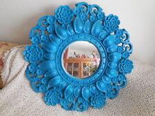 """Vintage Mid Century Modern 1968 Wall Decor Mirror 36"""" round"""